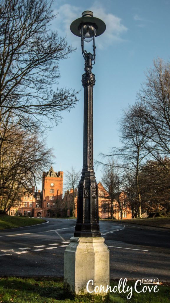 CS Lewis Lamppost-Campbell College Belfast