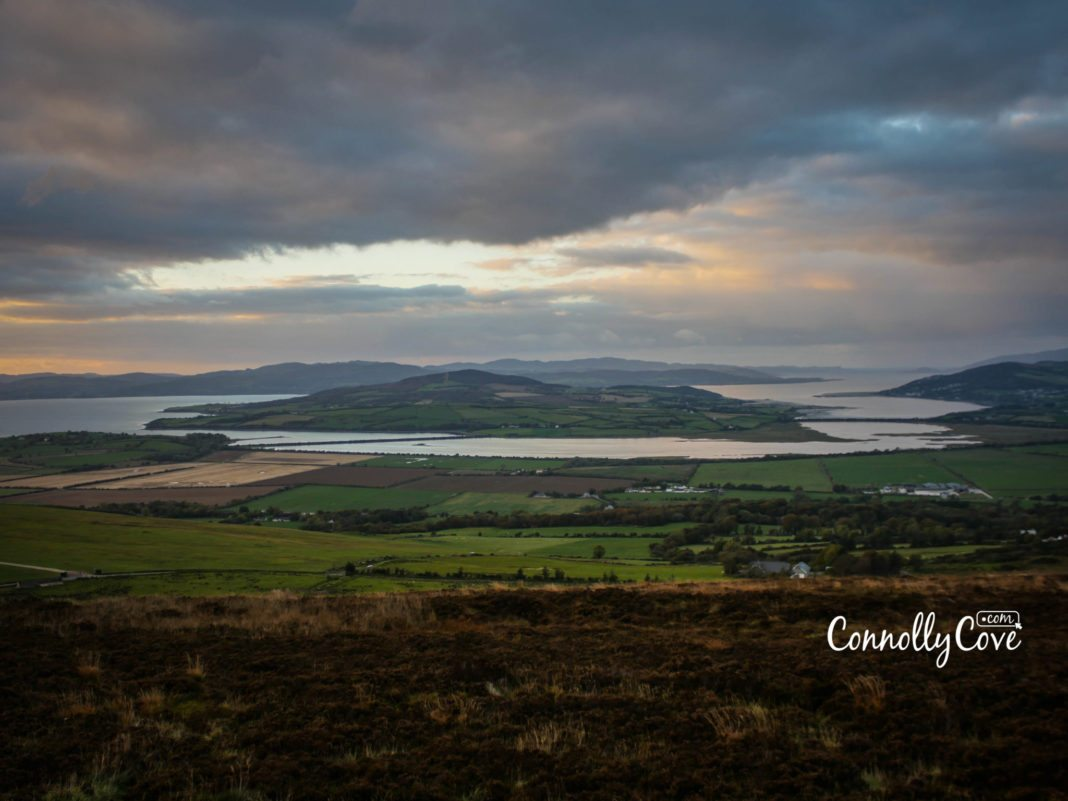 Grianan Of Aileach-View from Greenan Mountain at Inishowen - County Donegal