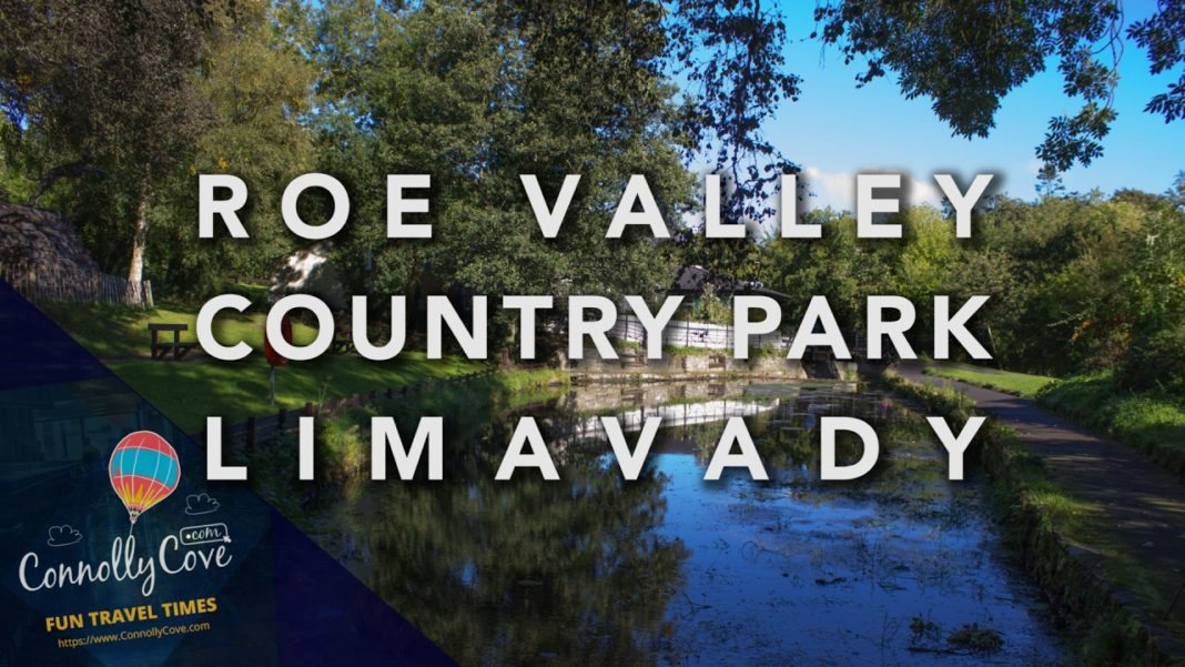 ROE VALLEY COUNTRY PARK - Beautiful Forest and the River Roe outside Limavady