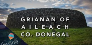 Grianan Of Alieach - County Donegal Beautiful Stone Fort-Ringfort