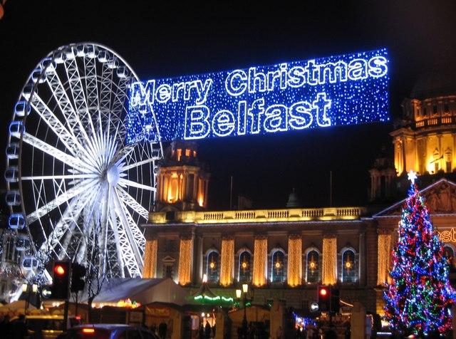 Belfast Christmas Market - Christmas Time in Belfast