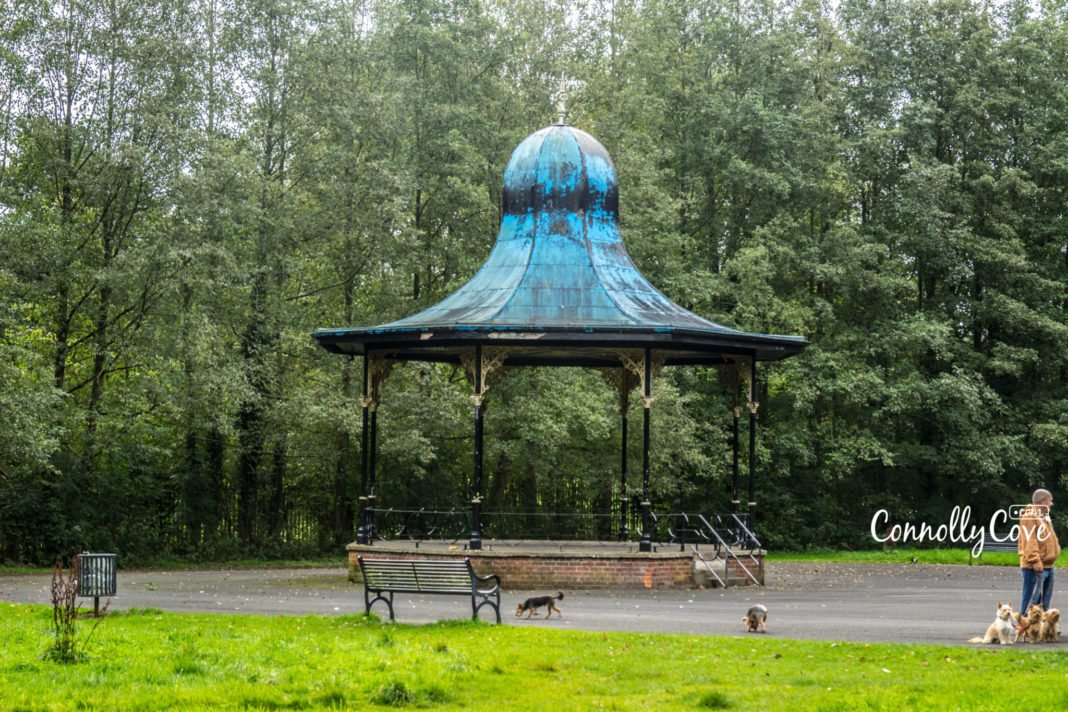 Ormeau Park Belfast Band Stand- Ormeau-Ravenhill Road
