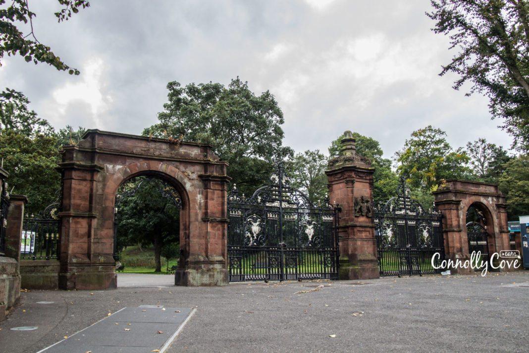 Ormeau Park Belfast Entrance- Ormeau-Ravenhill Road
