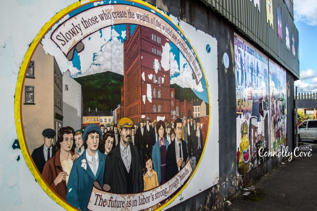 Peace Wall Belfast-Belfast Murals - Graffiti Dividing Wall