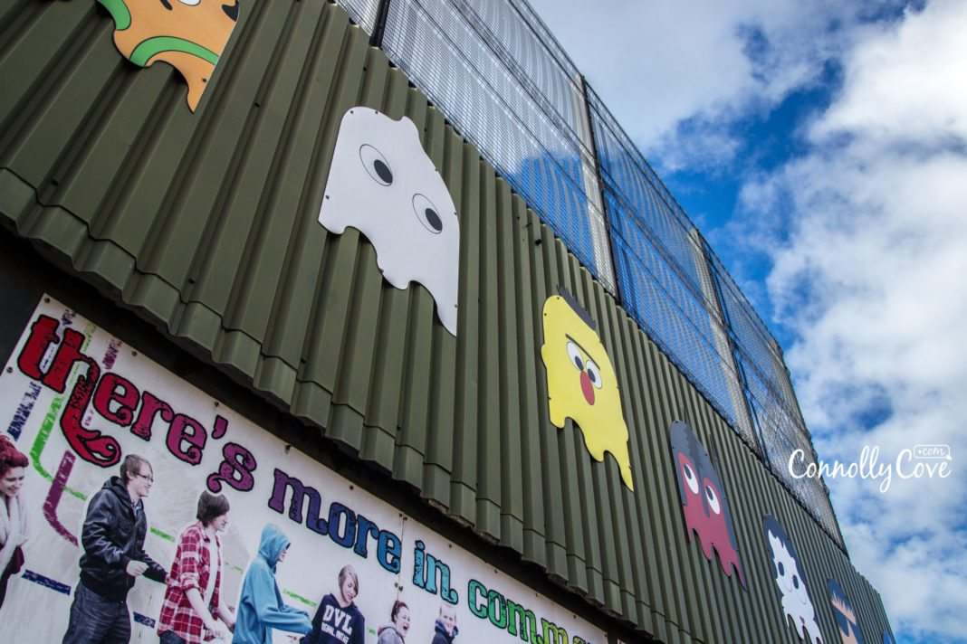 Peace Wall Belfast-Belfast Murals - Metal Gates - Belfast to Berlin