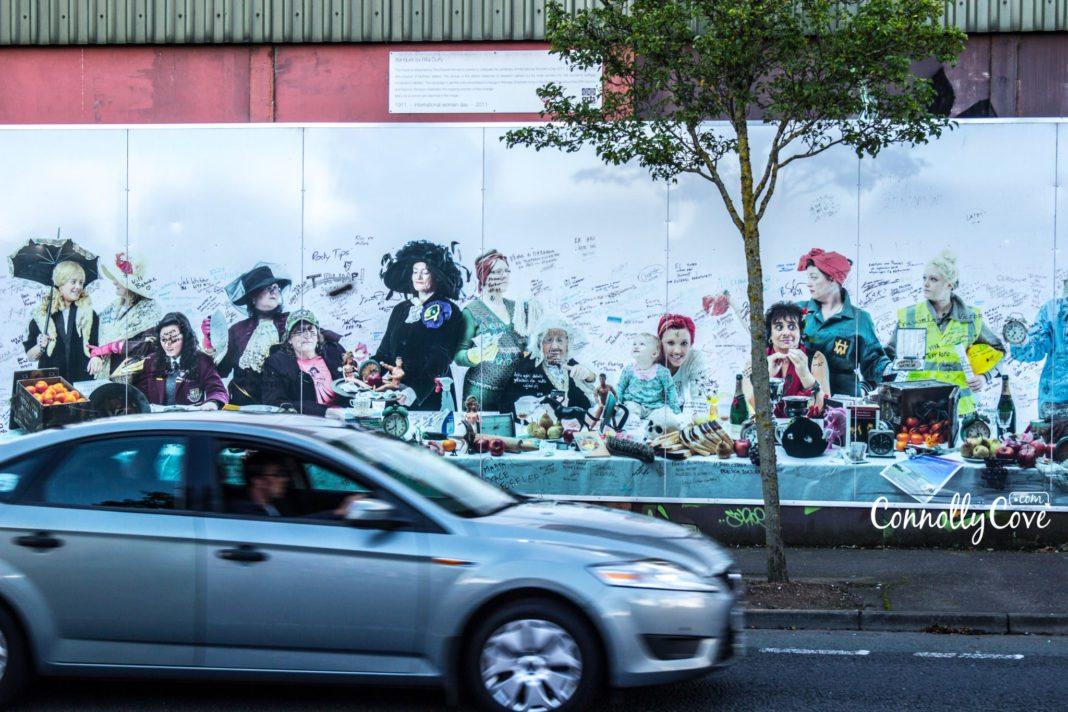 Peace Wall Belfast-Belfast Murals - Northern Ireland Wall