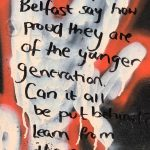 Peace Wall Belfast Messages