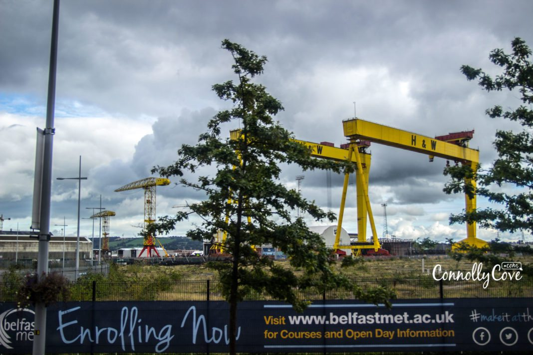 Samson & Goliath - Harland and Wolff-Bus Tour Belfast- belfast attractions