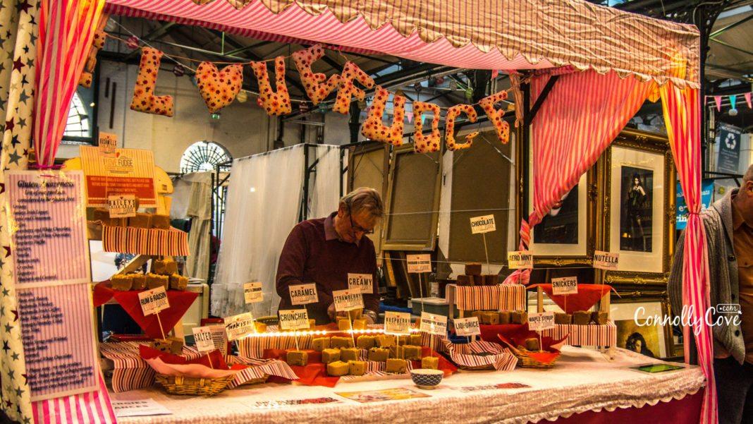 Fudge Stall - St.Georges Market-Belfast