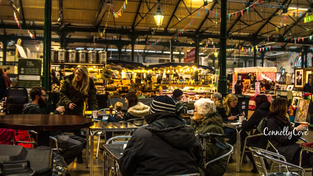 Food Area - St.Georges Market-Belfast