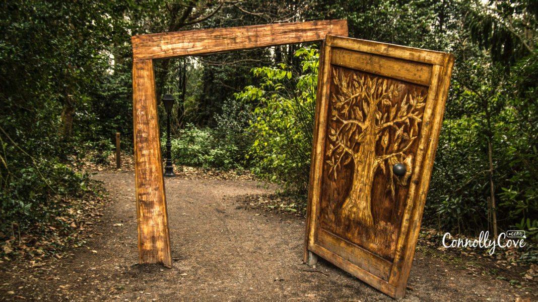 The Wardrobe - The Narnia Trail-Kilbroney Park-Rostrevor