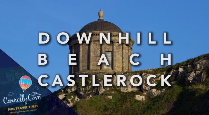 Downhill Beach-Mussenden Temple Castlerock
