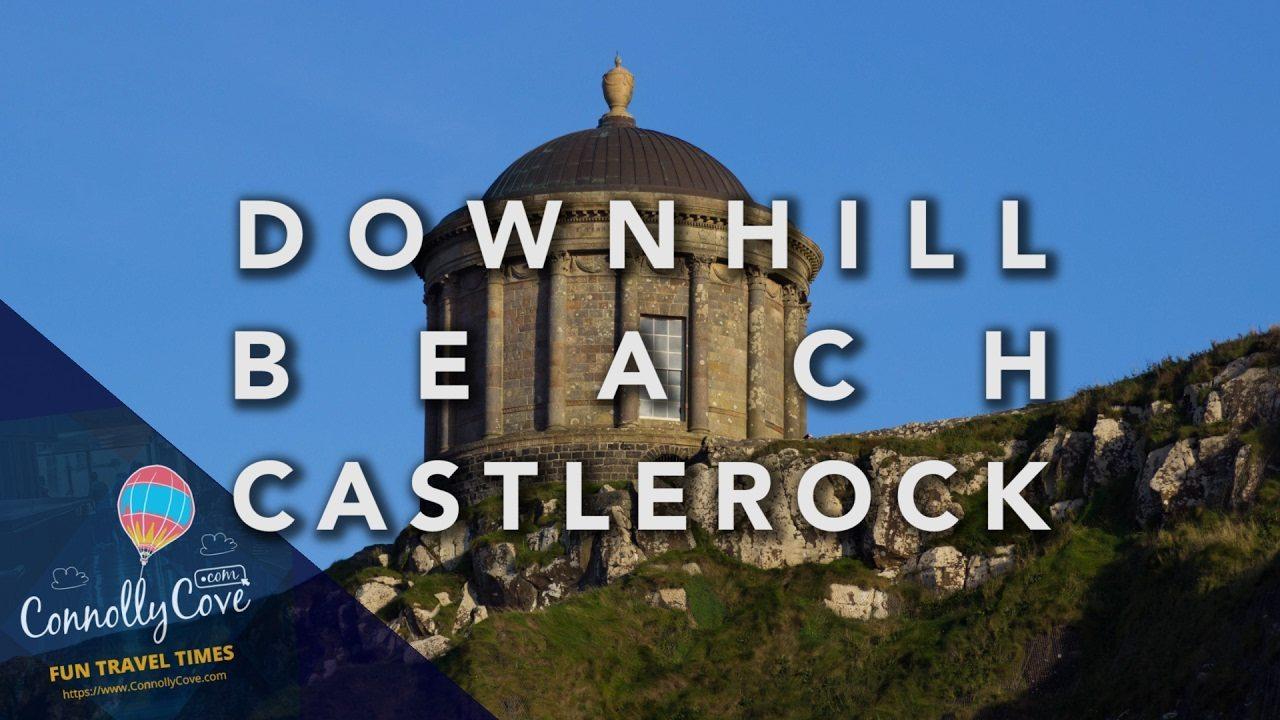 DOWNHILL BEACH - Mussenden Temple - CASTLEROCK Game of Thrones - Dragonstone
