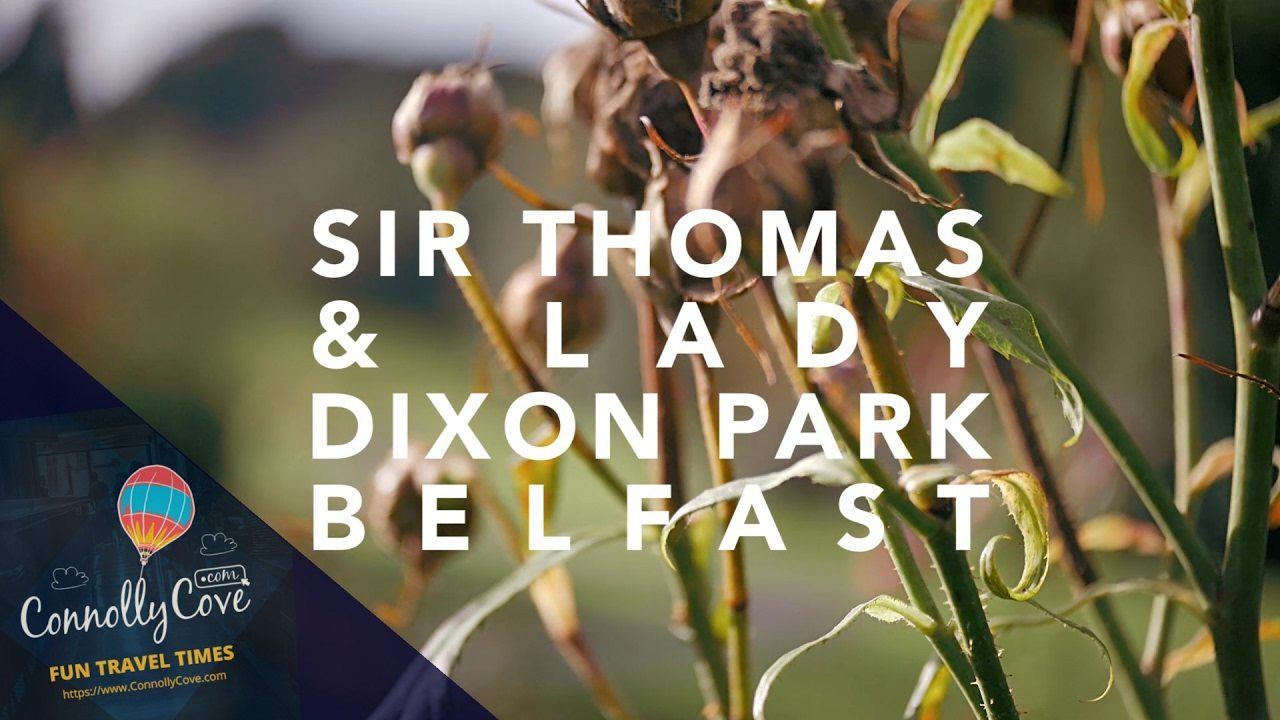 Sir Thomas and Lady Dixon Park South Belfast's Most Popular Park