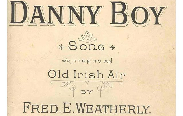 O' Danny Boy Song Cover - An Old Irish Air -by Fred E Weatherly