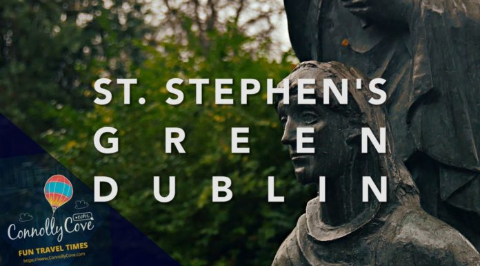 T STEPHEN'S GREEN DUBLIN - City Centre Park Opened in 1880 - St Stephen's Green Park - Dublin