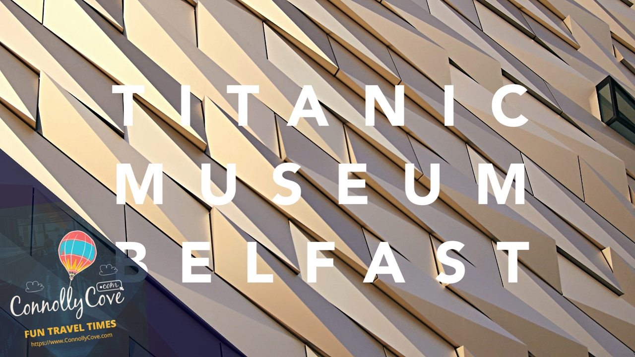 TITANIC MUSEUM BELFAST-Ultimate Titanic Experience-Learn the facts & the real story behind Titanic