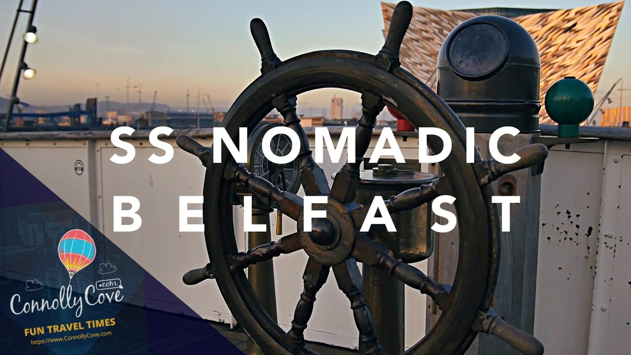 SS NOMADIC BELFAST - a Tour of the Titanic's Sister Ship- Nomadic, Based in Belfast Northern Ireland