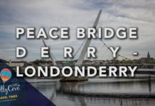 Peace Bridge Londonderry-Derry