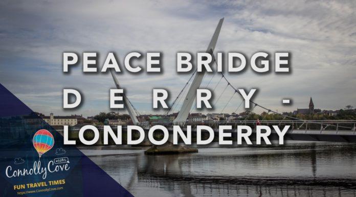 Peace Bridge Londonderry-Derry