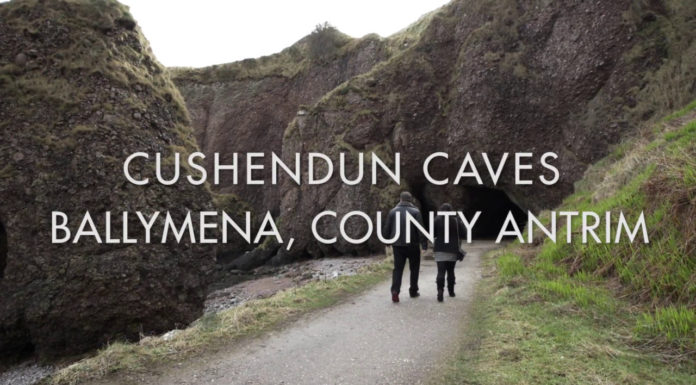Cushendun Caves-Cushendun, close to Ballymena, County Antrim