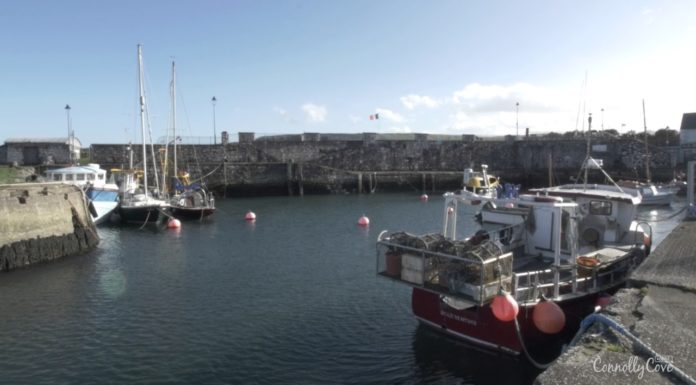 CARNLOUGH-A Beautiful Antrim Fishing Village and Harbour