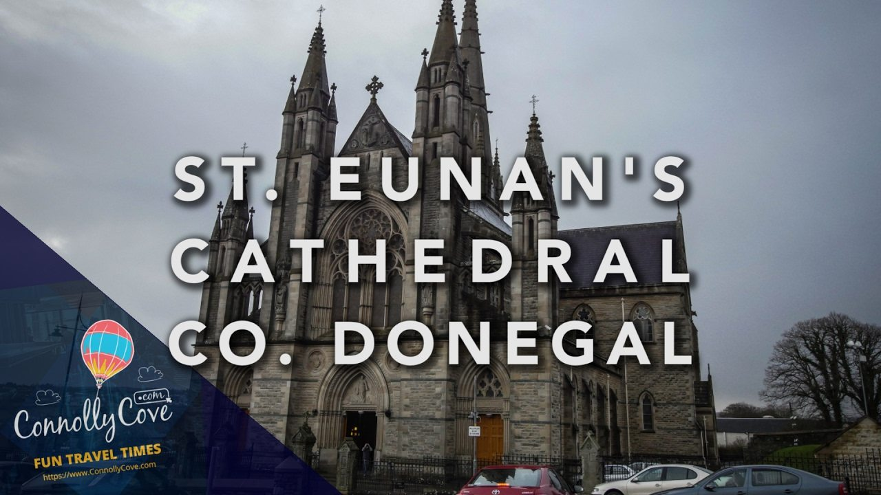 SAINT EUNANS CATHEDRAL, LETTERKENNY Co Donegal.The Cathedral of St Eunan and St Columba