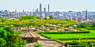 Al Azhar Park, A Gigantic Gem in the Heart of Old Cairo