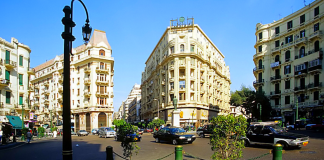 Downtown Cairos History Lies in its Splendid Streets