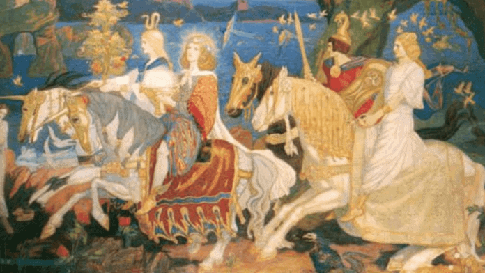 The Whole History of the Tuatha de Danann Irelands Most Ancient Race