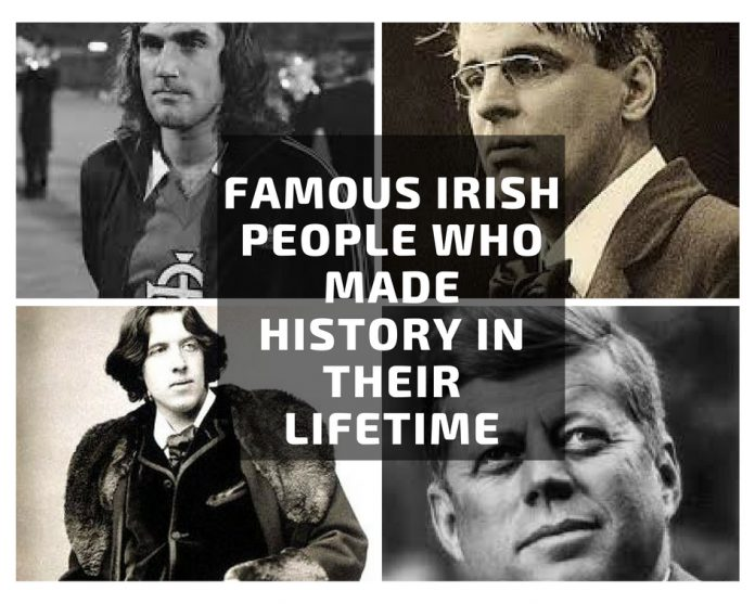 famous Irish people