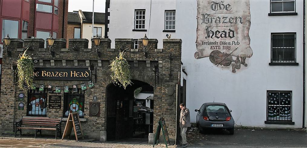he Brazen Head Pub Dublin