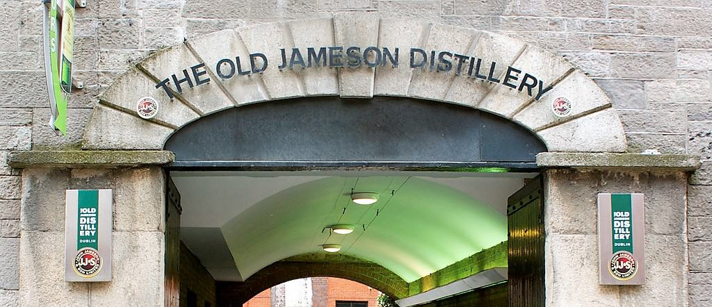 The old Jameson Distillery Dublin