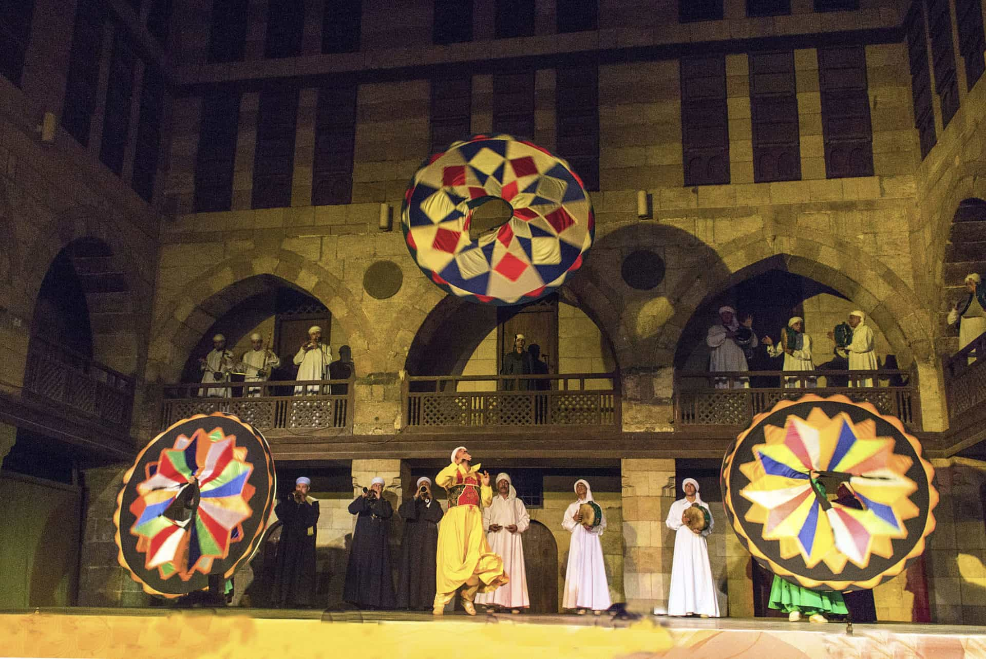 Tanoura show, Al Ghouri, Al Muizz Street