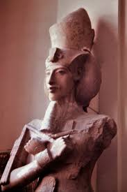 Bust of Akhentaten at the Egyptian Museum in Cairo