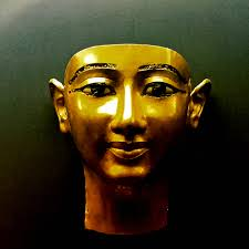Mask of Wendjebauendjed at The Egyptian Museum in Cairo