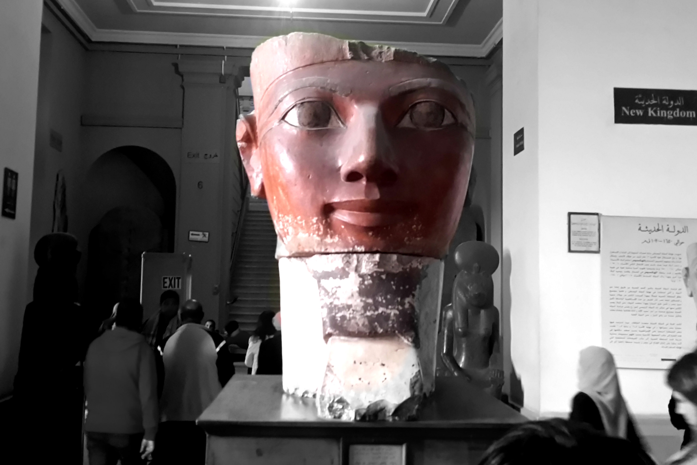 Queen Hatshepsut Statue at the Egyptian Museum in Cairo