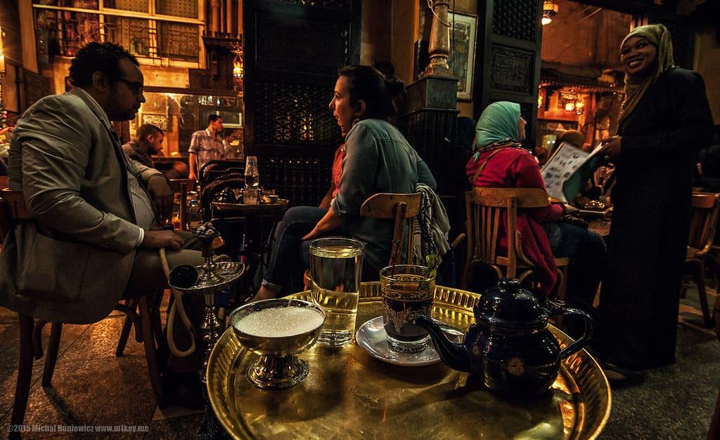 Al Fishawi Cafe near Al Muizz Street