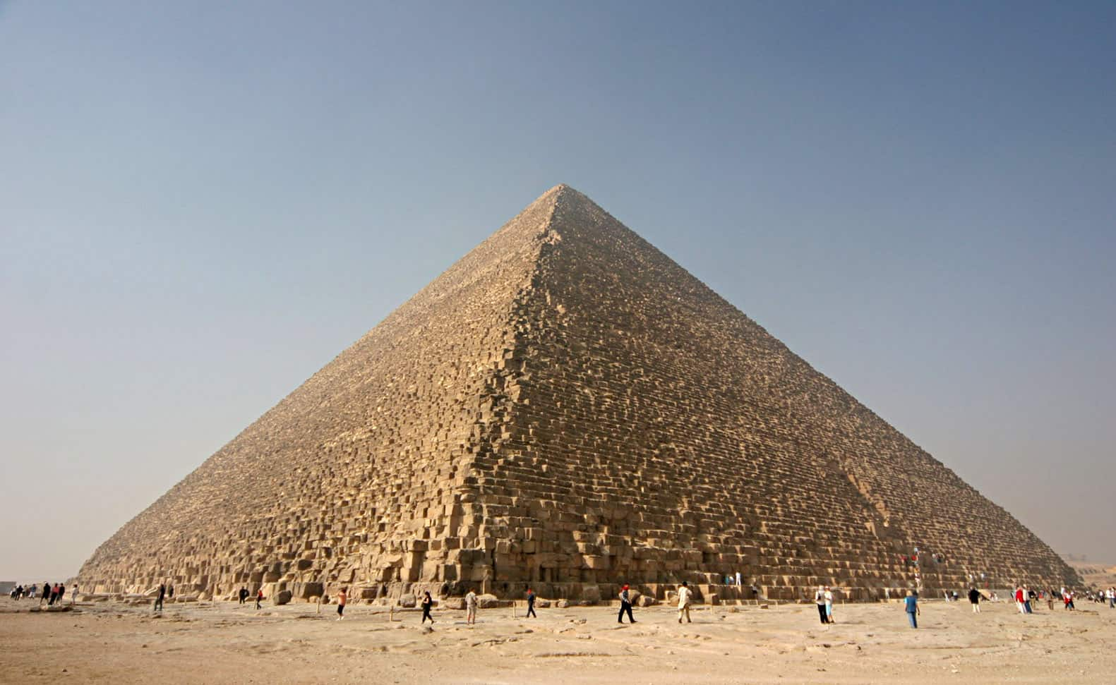 Khufu Pyramid, the great pyramids of Giza