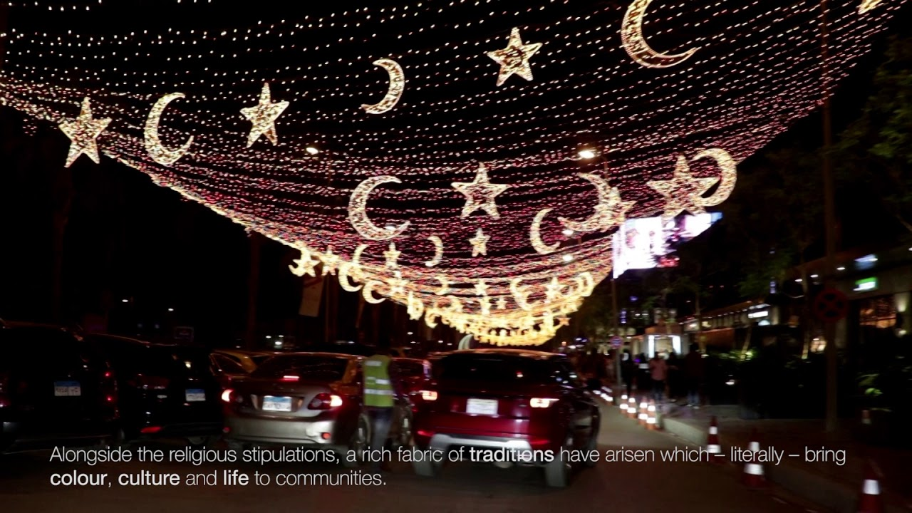 Ramadan, Cairo, Egypt - Ramadan Decorations - The Atmosphere of the Month of Ramadan in Cairo, Egypt