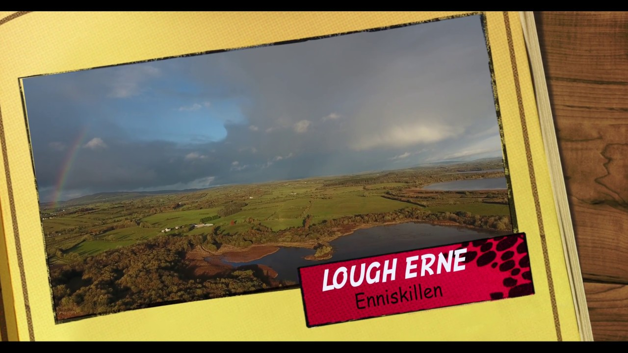 LOUGH ERNE - County Fermanagh - Enniskillen Town - Second Biggest Lake System in Northern Ireland