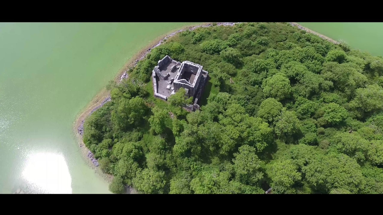 Abbey Ruins and Hidden Castle - Moore Hall - County Mayo Ireland, Close to Westport and Ballintober
