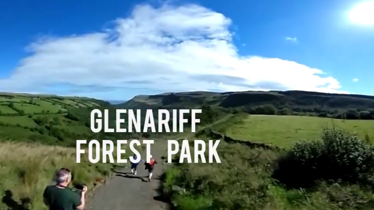 Glenariff Forest Park - 360 Degree Video Glenariff Park with its Waterfall Walk - Northern Ireland