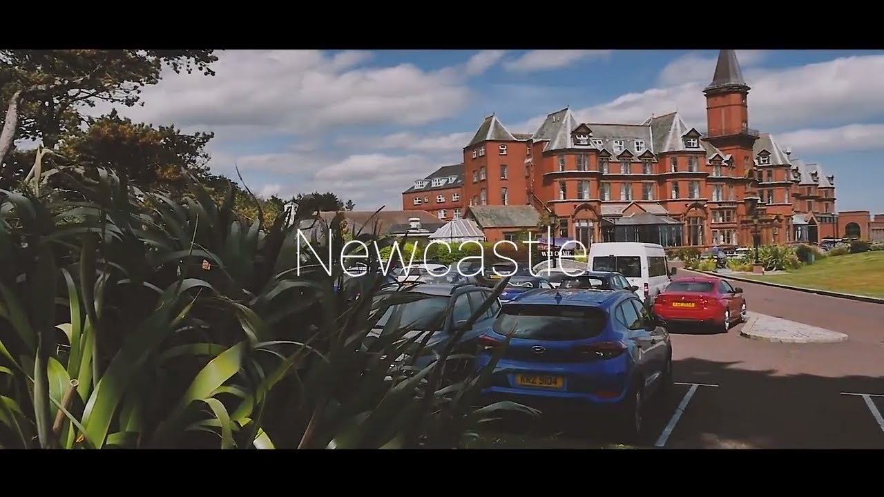 Newcastle County Down - Slieve Donard Hotel - Northern Ireland - Mourne Mountains - NI