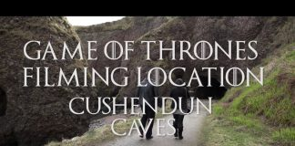 Cushendun Caves- Game of thrones location