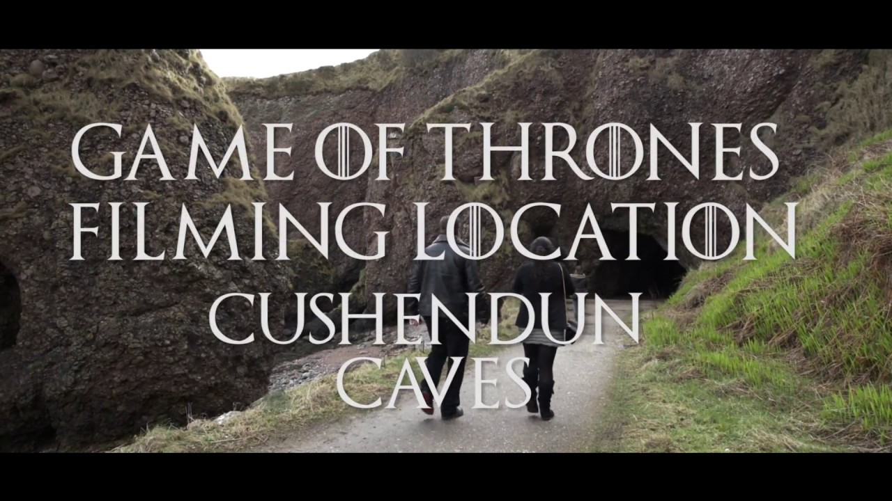 Game of Thrones Filming Location - Cushendun Caves NI - Different GOT Locations - Northern Ireland