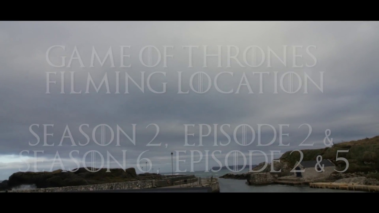 Game Of Thrones Filming Location, Northern Ireland - Ballintoy Harbour, NI - ❤⚔🗡📽 GOT Locations