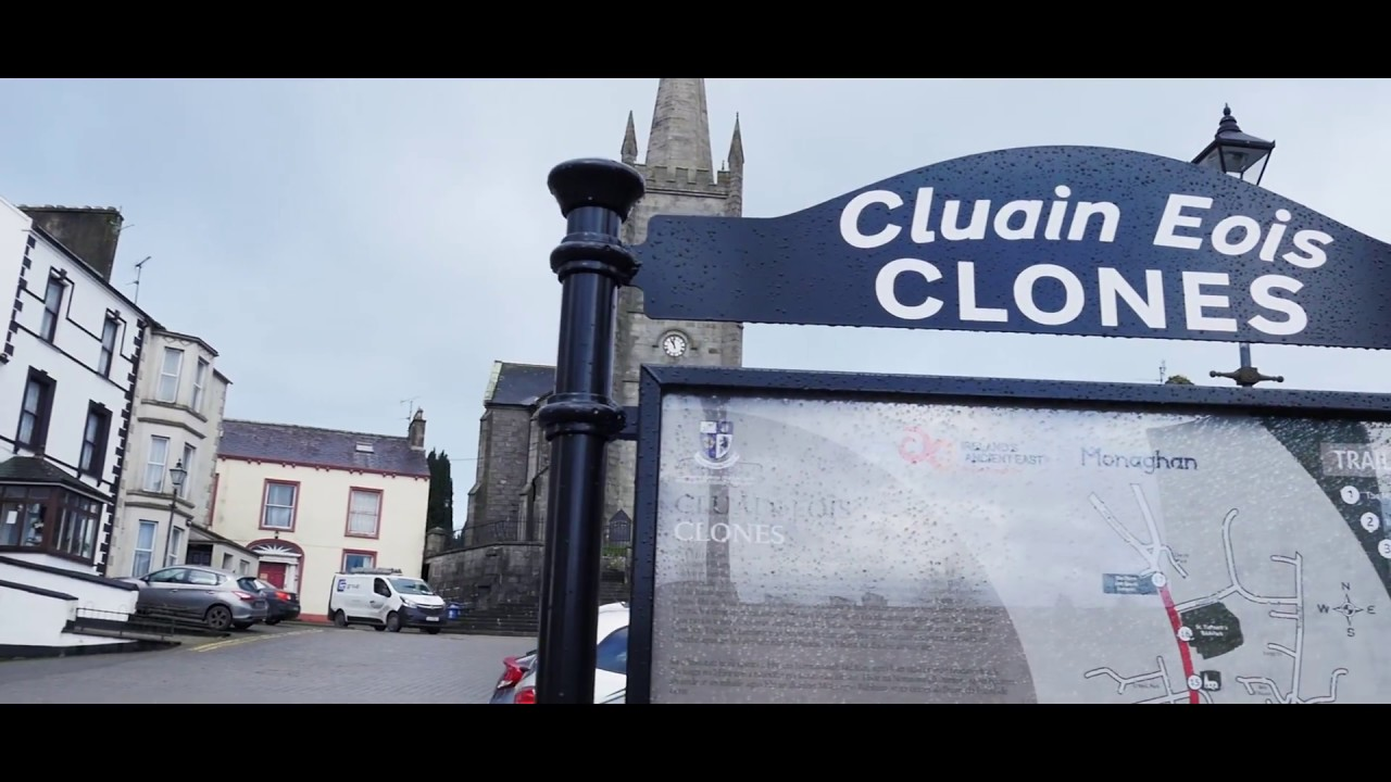 Clones, County Monaghan - A Walk Around Clones on a Winter Day - Checking Some History Here!