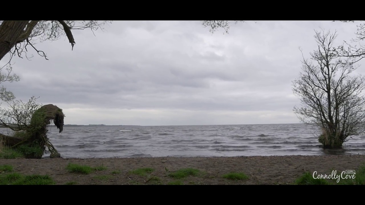 Game Of Thrones Filming Locations - Lough Neagh aka Smoking Sea in GOT - Season 5 Episode 5 - NI