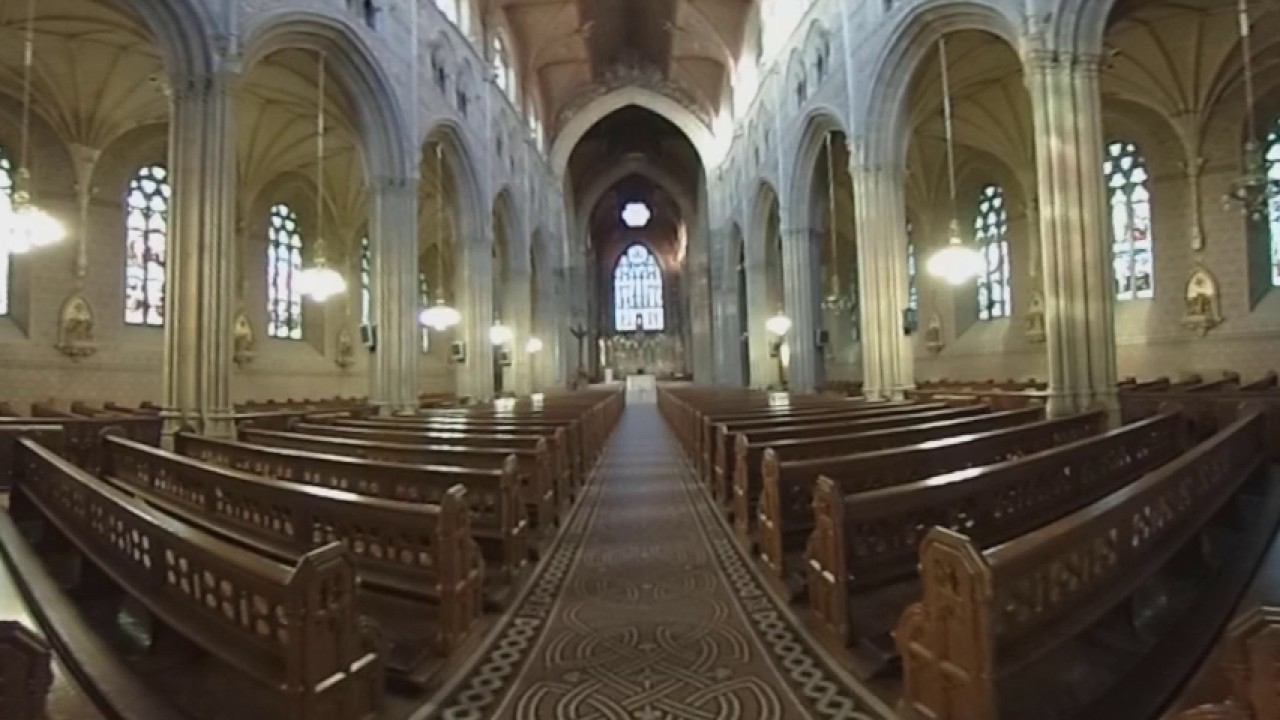 ST PATRICK'S CATHOLIC CATHEDRAL, ARMAGH - 360 Degree Video Experience - Northern Ireland - NI